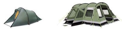 Small Tunnel Camping Tents
