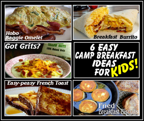 camping breakfast ideas recipes for kids