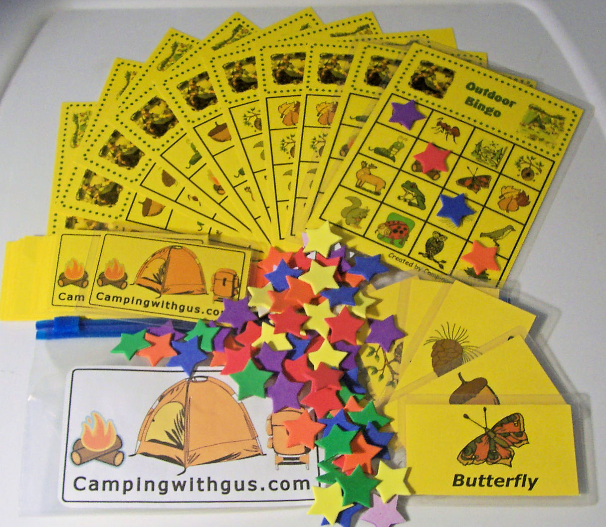 Outdoor Bingo For Camping With Kids Recently Updated