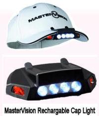 NEW Master Vision Five LED Cap Light