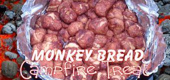 Cinnamon Sugar Monkey Bread Campfire Treat So Easy This Camping Recipe Lets The Kids