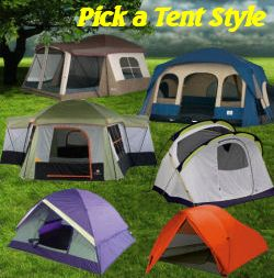 Learn more about your tent choices & 3 Most Popular Camping Tent Styles and Types