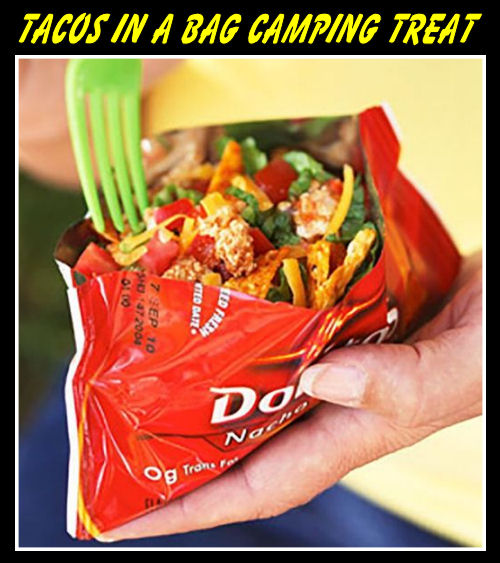 Walking Tacos In A Bag Camping Treat