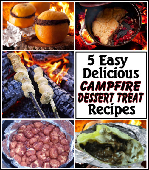 5 Best Easy Campfire Desserts And Treats For Kids And Adults